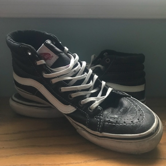 Shoe ShoesSk8t Hi Poshmark Leather Vans Vegan wNn0m8